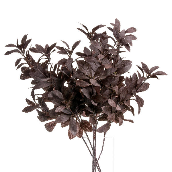 Jewel Toned Burgundy Eucalyptus Foliage - Cosy Home Interiors