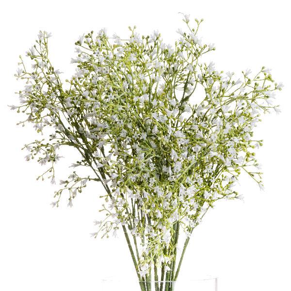 White Wildflower Spray - Cosy Home Interiors