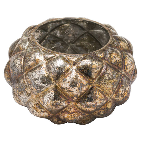 The Noel Collection Medium Burnised Votive Candle Holder - Cosy Home Interiors