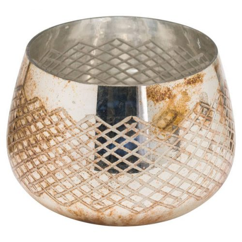 The Noel Collection Burnished Tealight Holder - Cosy Home Interiors