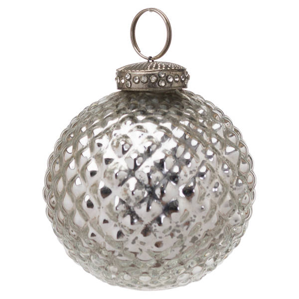 The Noel Collection Mercury Christmas Bauble - Cosy Home Interiors