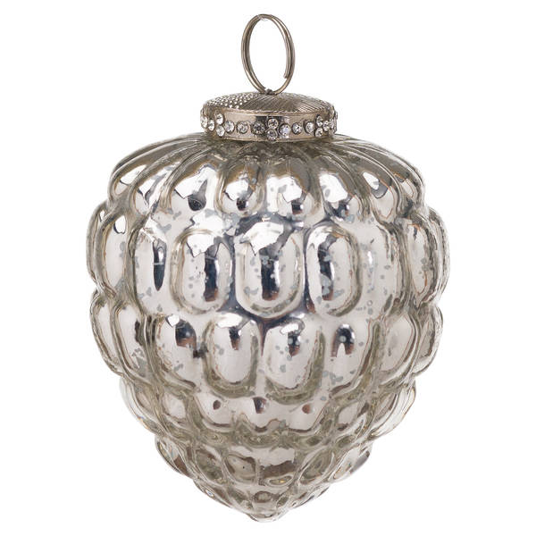 The Noel Collection Mercury Acorn Hanging Bauble - Cosy Home Interiors