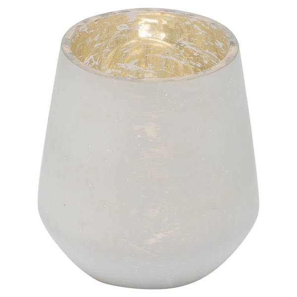 The Noel Collection White Tealight Holder - Cosy Home Interiors