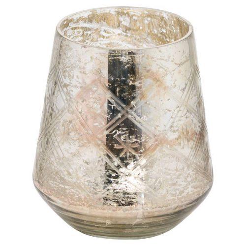 The Noel Collection Large Mercury Decorative Vase - Cosy Home Interiors