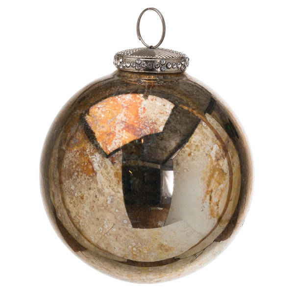 The Noel Collection Burnished Bauble - Cosy Home Interiors