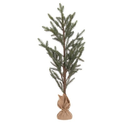 The Noel Collection Large Artifical Pine Tree In Hessian Pot - Cosy Home Interiors
