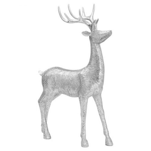 Decortive Wood Effect Standing Deer - Cosy Home Interiors