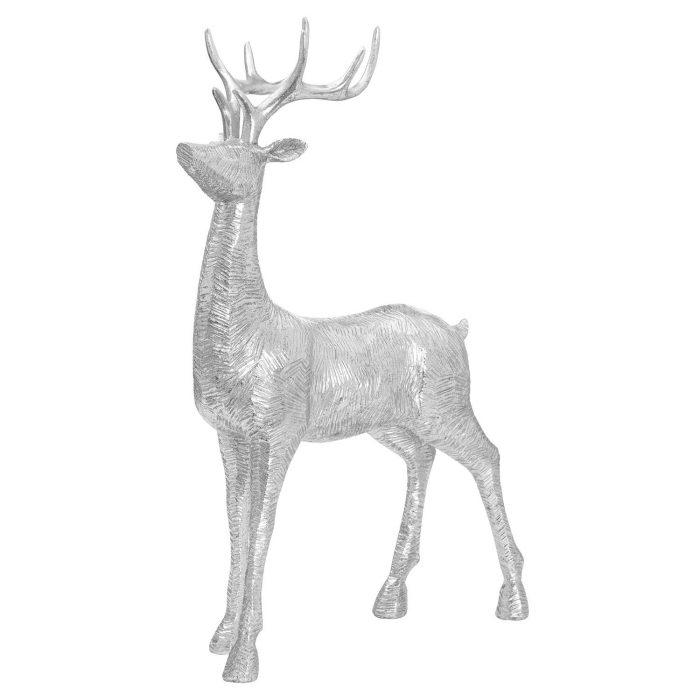 Decortive Wood Effect Standing Deer - Cosy Home Interiors