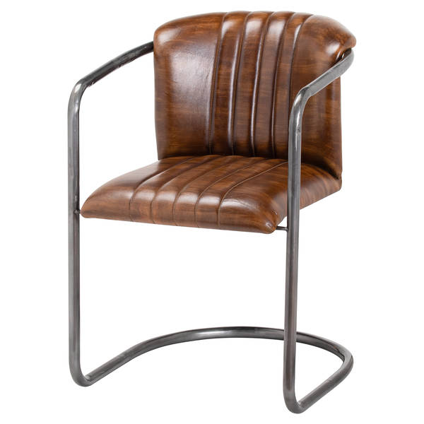 Billy Leather Dining Chair - Cosy Home Interiors