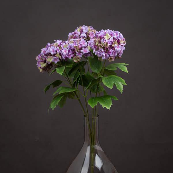 Vibrant Purple Viburnum Style Spray - Cosy Home Interiors