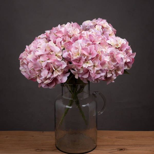 Shabby Pink Hydrangea Bouquet - Cosy Home Interiors