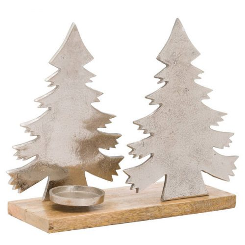 The Noel Collection Christmas Tree Tea Light Holder - Cosy Home Interiors