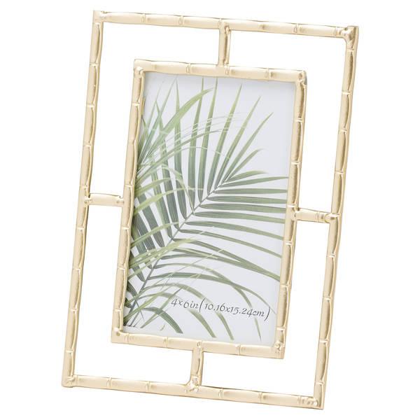 Gold Open Edge Photo Frame 6X4 - Cosy Home Interiors