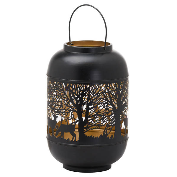 Large Glowray Christmas Dome Forest Lantern - Cosy Home Interiors