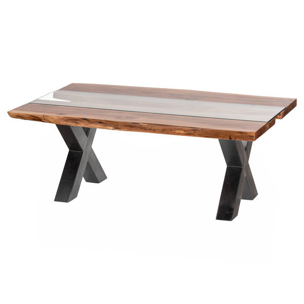 Live Edge Collection River Coffee Table - Cosy Home Interiors