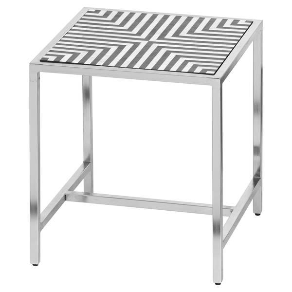 Handmade Bone Inlay Side Table - Cosy Home Interiors