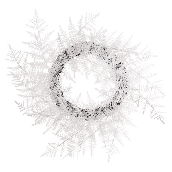 Medium Frosted Candle Wreath - Cosy Home Interiors