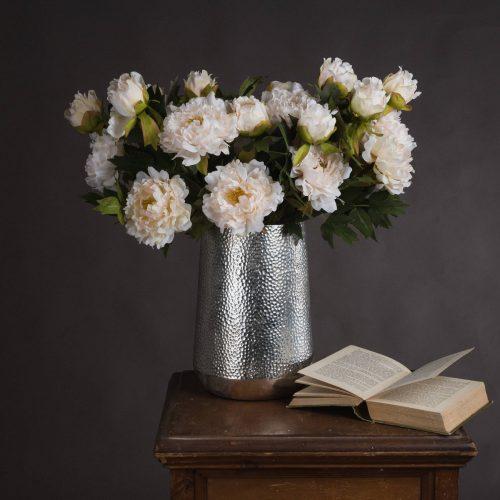 White Fashion Peony - Cosy Home Interiors