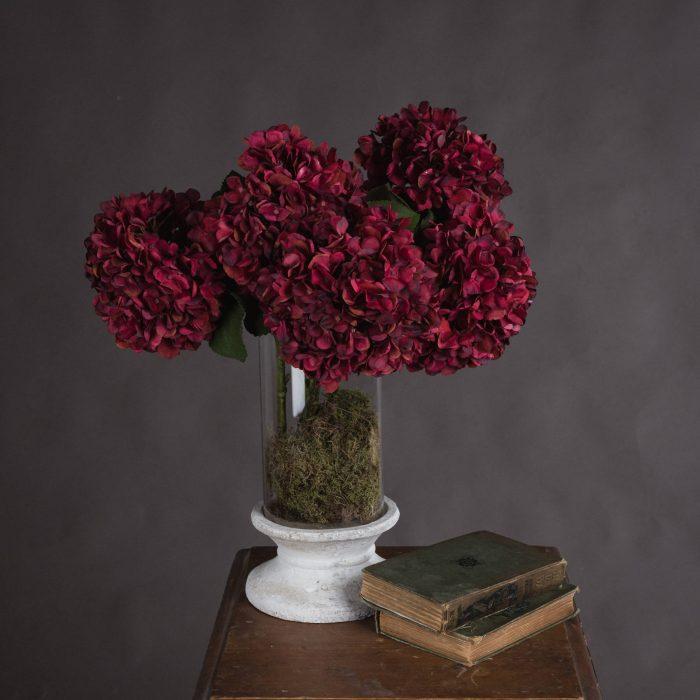 Autumn Ruby Hydrangea - Cosy Home Interiors