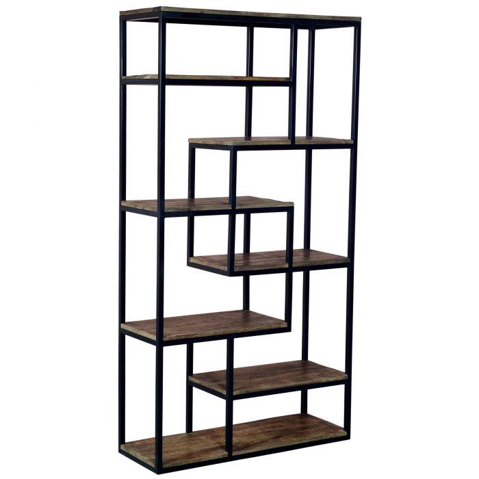 Multi Shelf Industrial Shelf Unit - Cosy Home Interiors