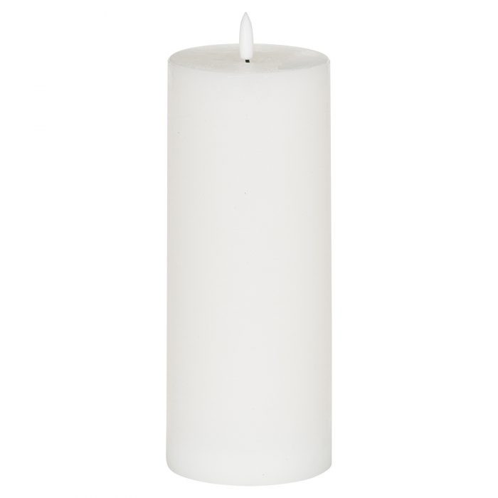 Luxe Collection Natural Glow 3.5x9 LED White Candle - Cosy Home Interiors