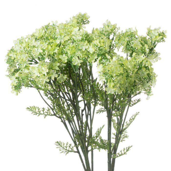 Green Plumb Blossom Spray - Cosy Home Interiors