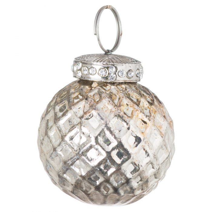The Noel Collection Burnished Small Honeycomb Bauble - Cosy Home Interiors