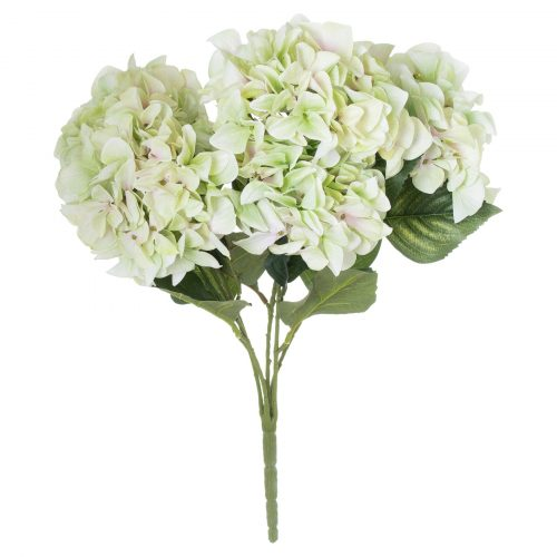 Shabby Green Hydrangea Bouquet - Cosy Home Interiors