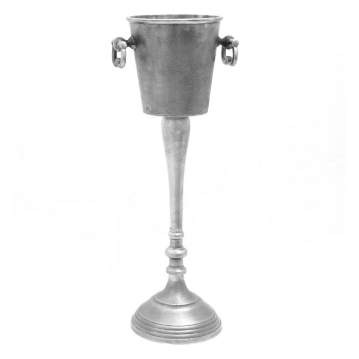 Cast Floor Standing Champagne Cooler - Cosy Home Interiors