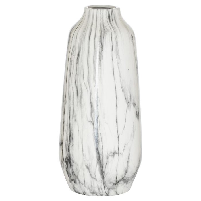 Marble Olpe Tall Vase - Cosy Home Interiors
