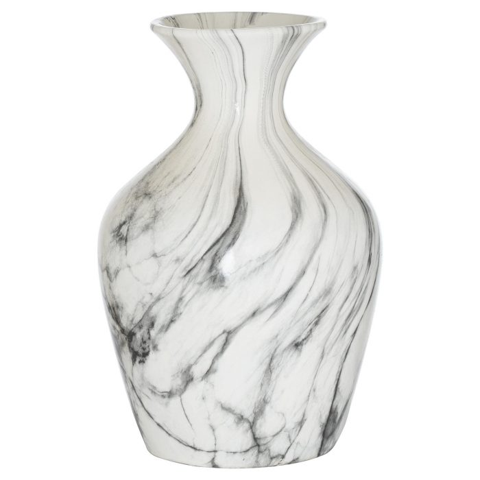 Marble Ellipse Large Vase - Cosy Home Interiors