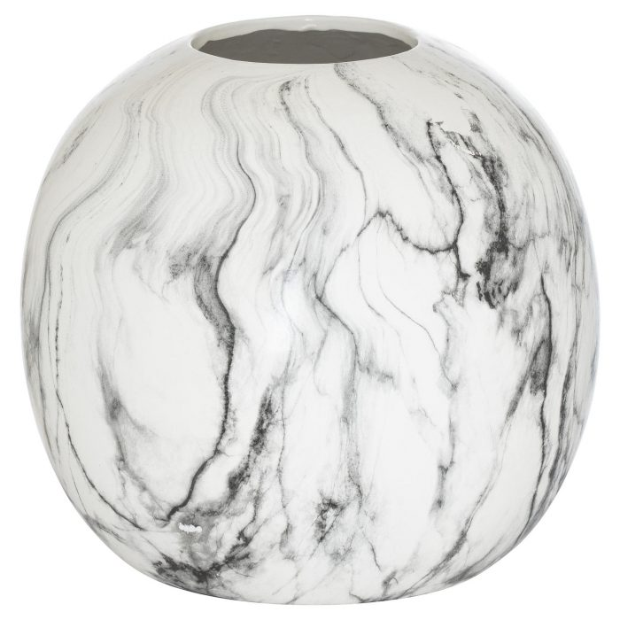 Marble Large Pudding Vase - Cosy Home Interiors