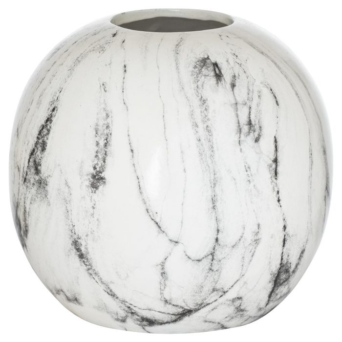 Marble Pudding Vase - Cosy Home Interiors